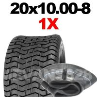 20x10.00-8 TYRE & TUBE SET RIDE ON LAWN MOWERS 20 10.00 8